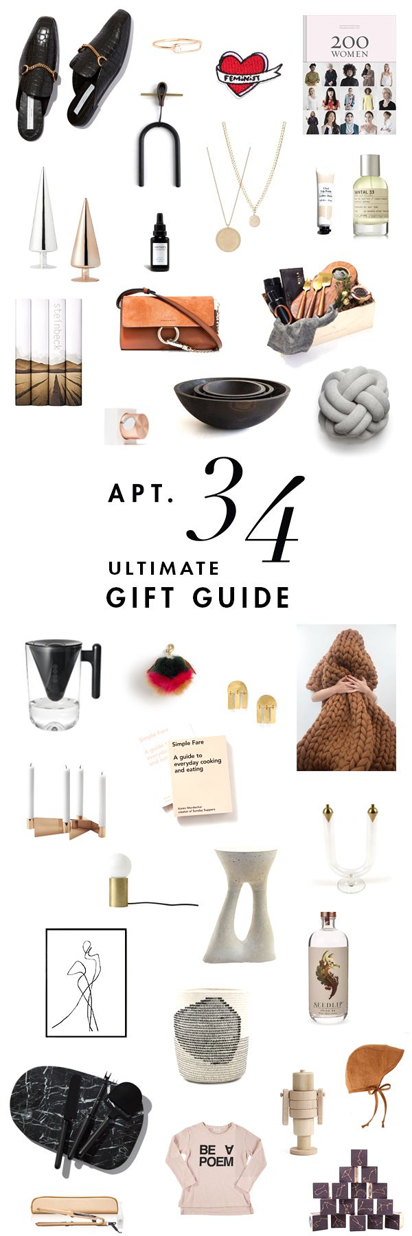 the ultimate gift guide on apartment 34