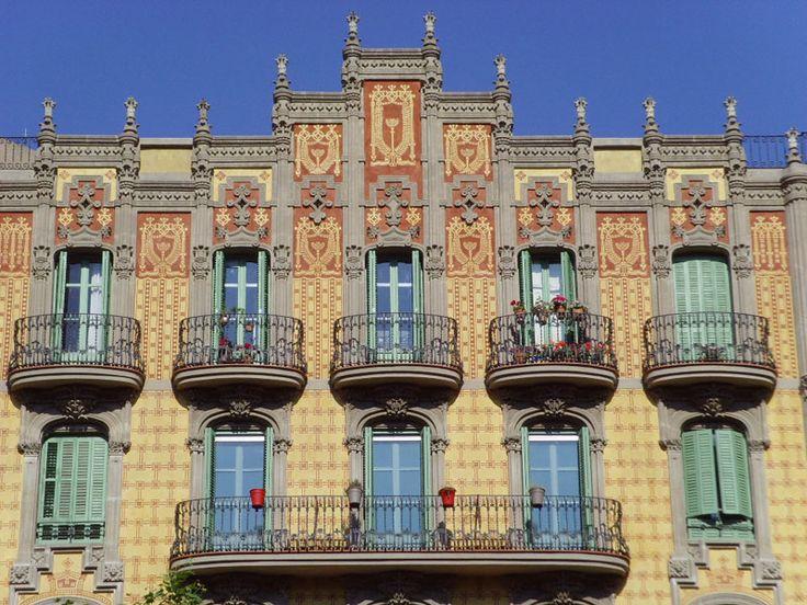 Montjuïc District in Barcelona