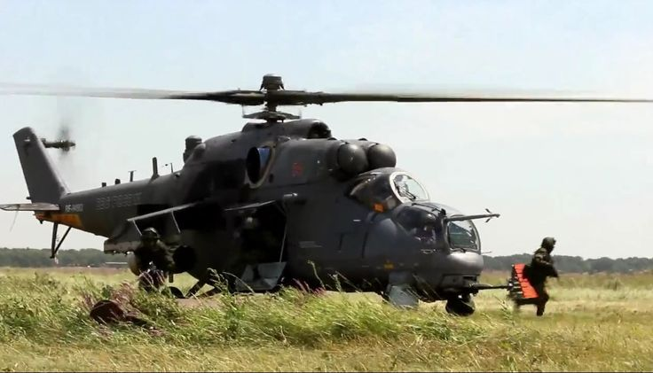 Testing by non-parachute landing with multi-purpose attack helicopter Mi-35M.