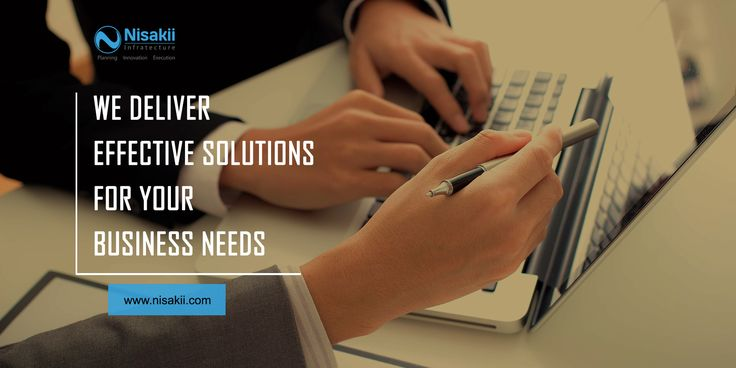 we deliver effective solutions for your business needs