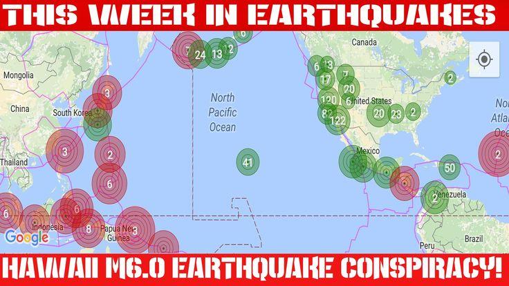 Earthquake Report | July 3, 2016 | 1,935 Quakes | Hawaii M6.0 Quake Cons...