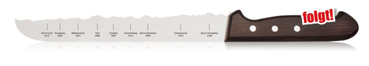 Swiss Alps panoramic knives, clever