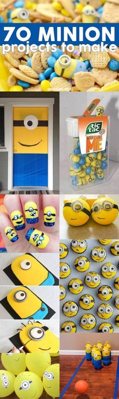 70 Minion Projects to Make