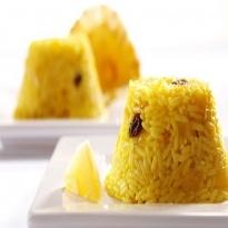 Receita de Arroz Pilaf com açafrão  (rice with saffron)