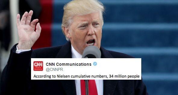 Trump Slammed CNN's Ratings. CNN's Response Is Priceless
