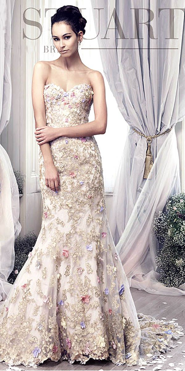 24 Totally Unique Fashion Forward Wedding Dresses ❤ See more: http://www.weddingforward.com/fashion-forward-wedding-dresses/ #wedding #dresses