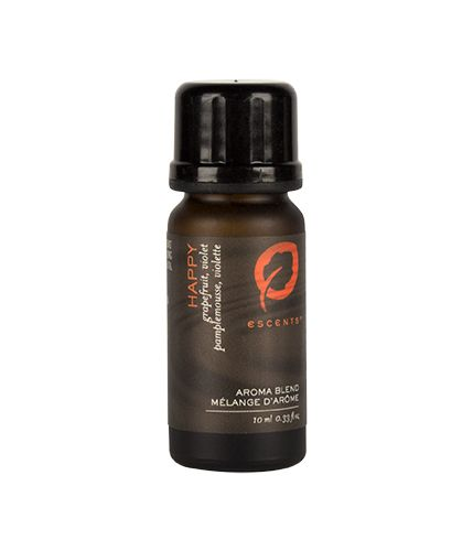 Happy Aroma Blend with Grapefruit essential oil and Violet. Refreshingly bold with citrus and floral notes.