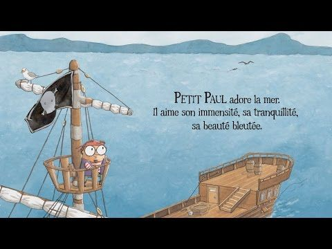 Livre animé (Petit Paul) écrit par Ashley Spires - YouTube
