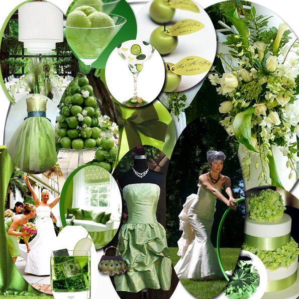 47 best wedding green apple green images on pinterest green apple themed wedding idea green wedding centerpieceswedding junglespirit Image collections