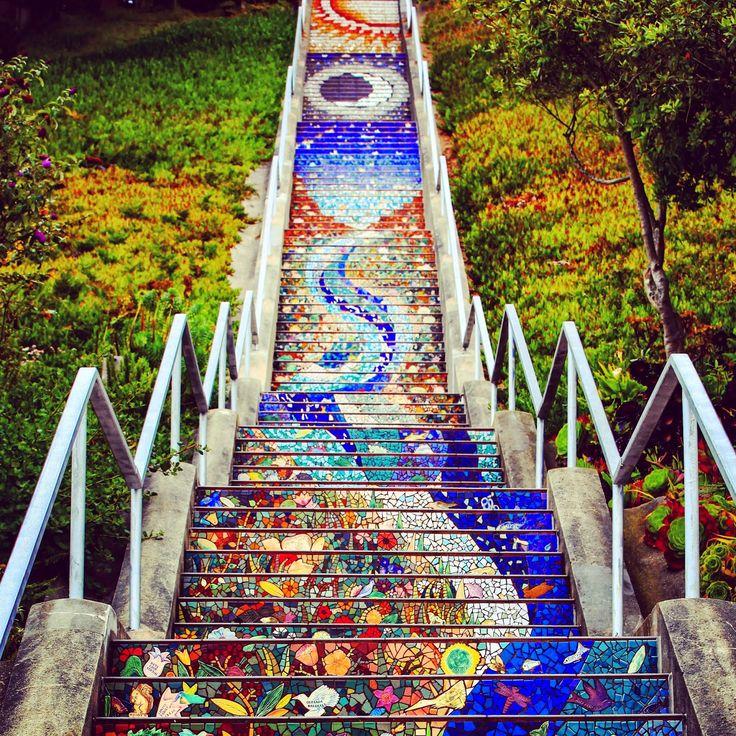 Avenue Mosaic Steps