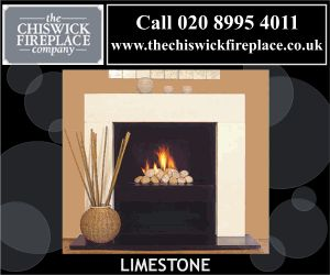 Fireplace Animated Banner Ads Design.