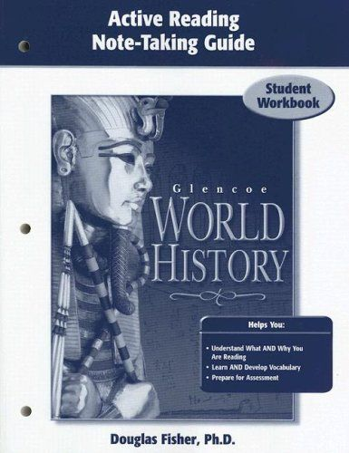 Glencoe World History, Active Reading Note-Taking Guide, Student Edition Price:$12.04