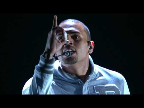 Turn Up The Music / Beautiful People (54th GRAMMY's on CBS) - Chris Brown <3 <3 <3