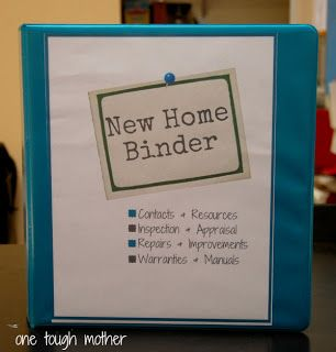 I made something like this. would be nice to spruce it up a bit however -- An awesome way to keep all of the papers for you New Home organized!