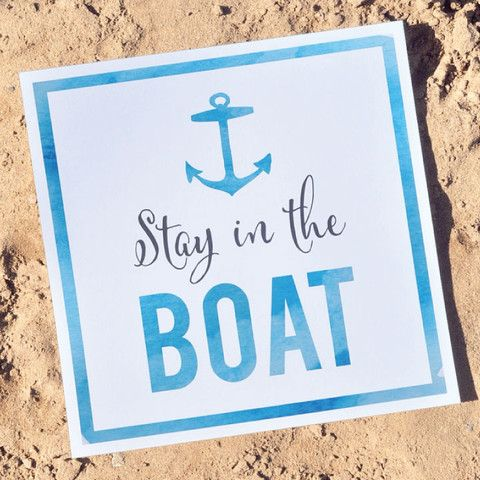 Free download: Stay in the boat