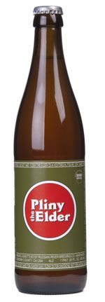 Pliny the Elder is brewed with Amarillo, Centennial, CTZ, and Simcoe hops. It is well-balanced with malt, hops, and alcohol, slightly bitter with a fresh hop aroma of floral, citrus, and pine. Best enjoyed FRESH! That is why we make it in such limited supply. Actual bottling date is printed on each bottle!