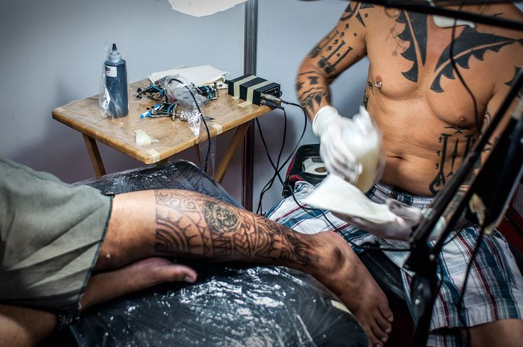 How to Deal With Tattoo Pain -- via wikiHow.com