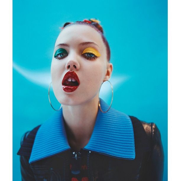 "Isamaya Ffrench (@isamayaffrench)   ""Makeup: It's a mug's game""—follow Isamaya for further proof that face painting isn't just for carnivals."
