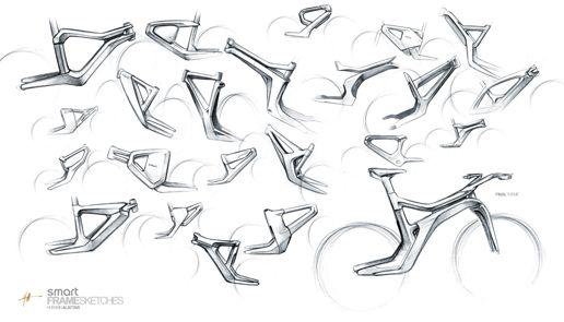 Smart ebike, Hussein al-Attar. Principles of design in use: variety, contrast, dominance.