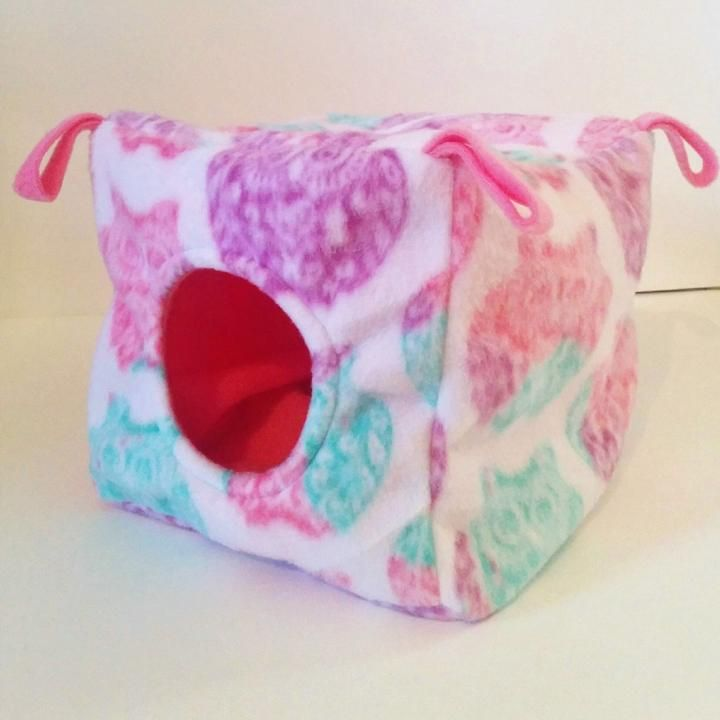 How to make a fleece cube with hidden seams with images