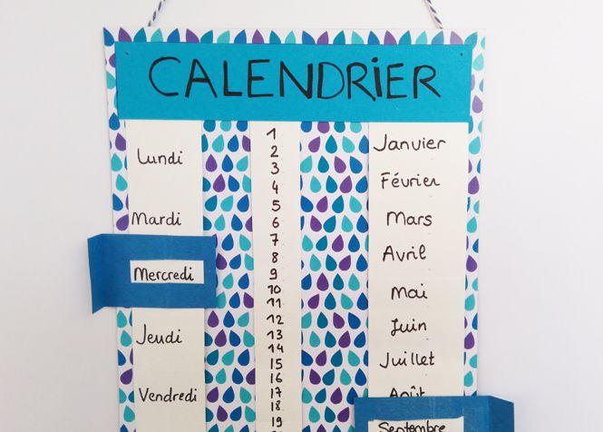 Calendrier A Faire.Faire Un Calendrier Pour Maternelle Ce23 Jornalagora
