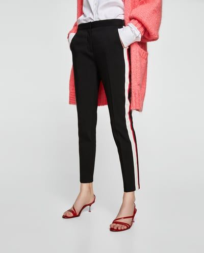 8b4a9c4e2 Image 2 of JOGGING TROUSERS WITH SIDE STRIPES from Zara Pantalon Raya  Lateral