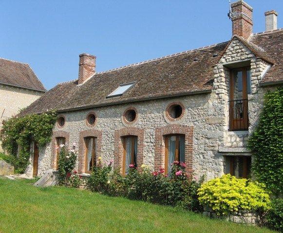 Gite (cottage) Fontainbleu, Ile-de-France, Seine-et-Marne, Paris region, France.