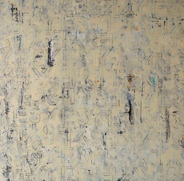 Yes To Life. Acrylic on Panel.36×36