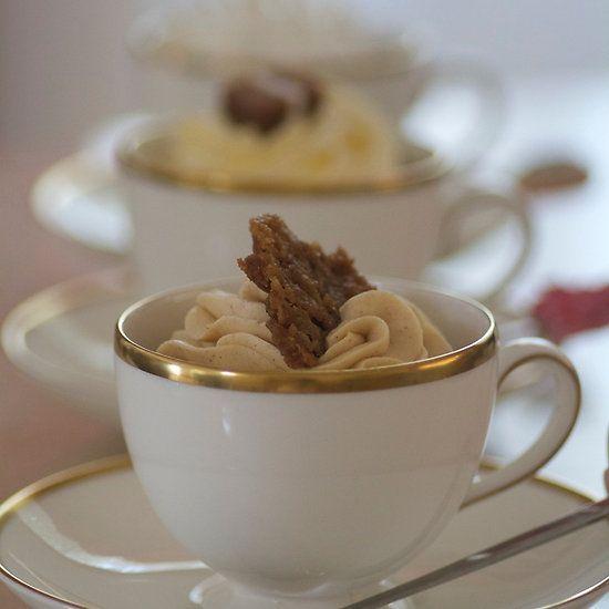 Apple Pie Cupcake in a Tea Cup!