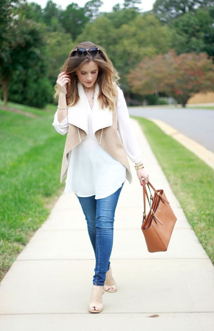The perfect shearling vest from @target