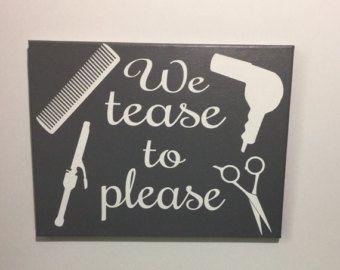 Hairstylist anagram hairstylist gift salon by SunShineWallArt