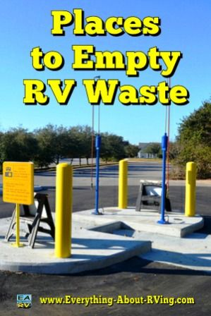 Places To Empty RV Waste