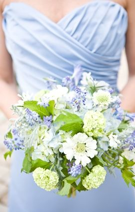 blue, bouquets, bridesmaid, bridesmaids, flowers, beach, details, wedding