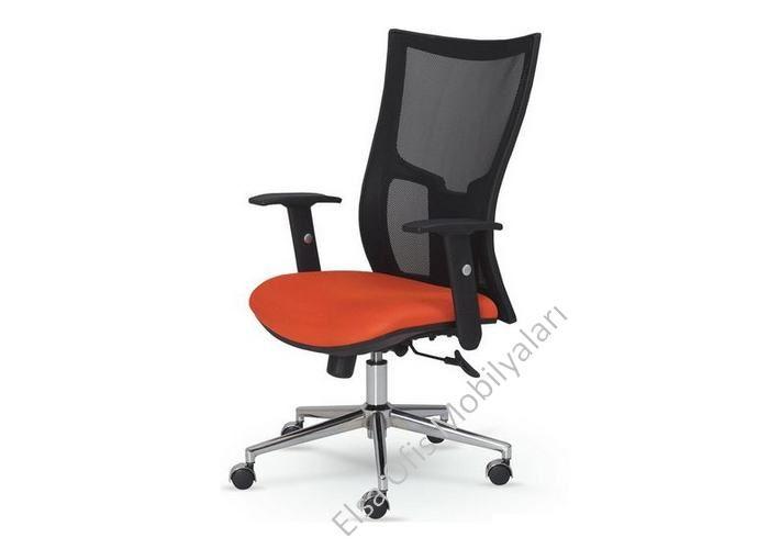File ofis koltuklarında ergonomik yapı ve tasarımlarla üretimi yapılan krom ayaklı şık terletmeyen garantili fileli ofis koltuğu.