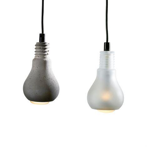 Edison lampa - betong - Tove Adman
