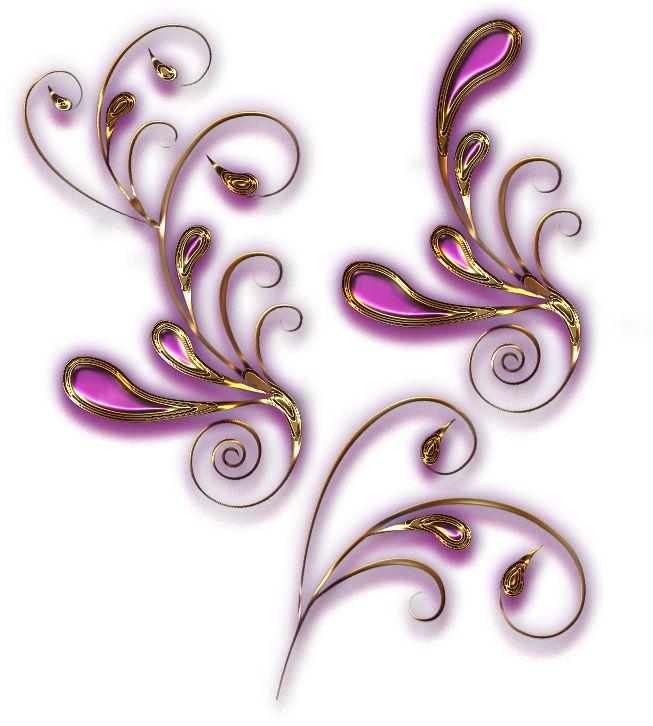Ornamenty zlaté 3 | Tvoření