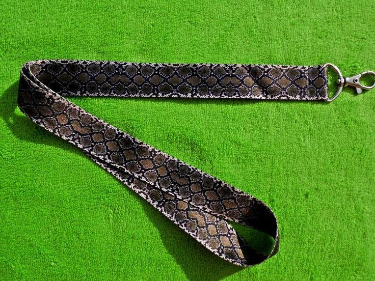 Animal Snake Skin Printed Lanyard, Neck Strap with Strong Metal Swivel Clip  #TOPDESIGNSTUDIO