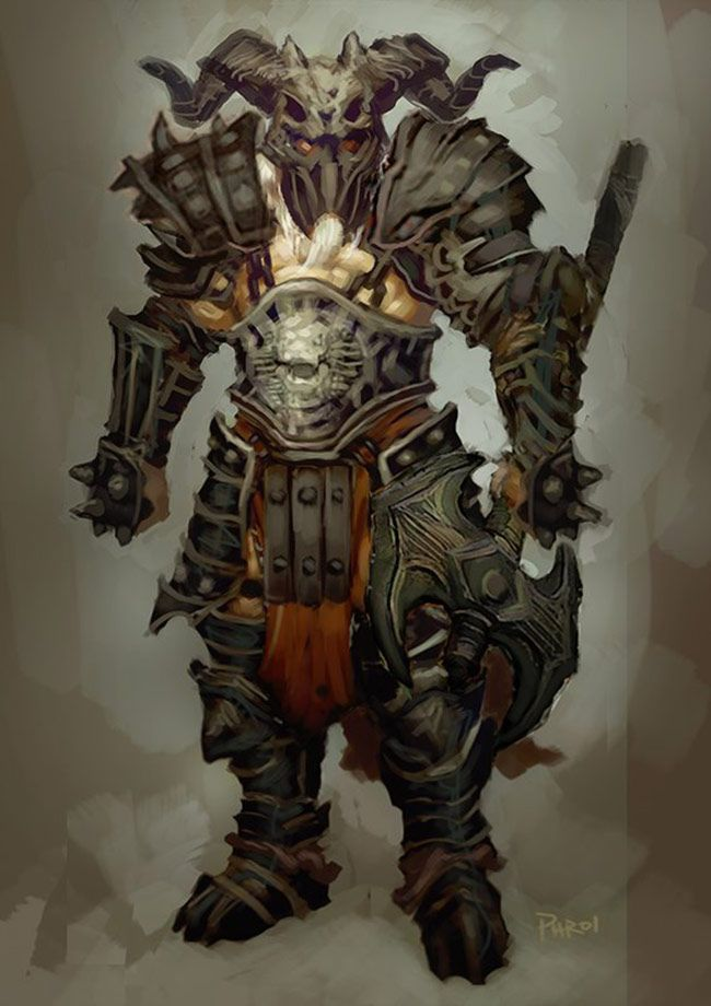 barbarian diablo 3 armor - photo #38