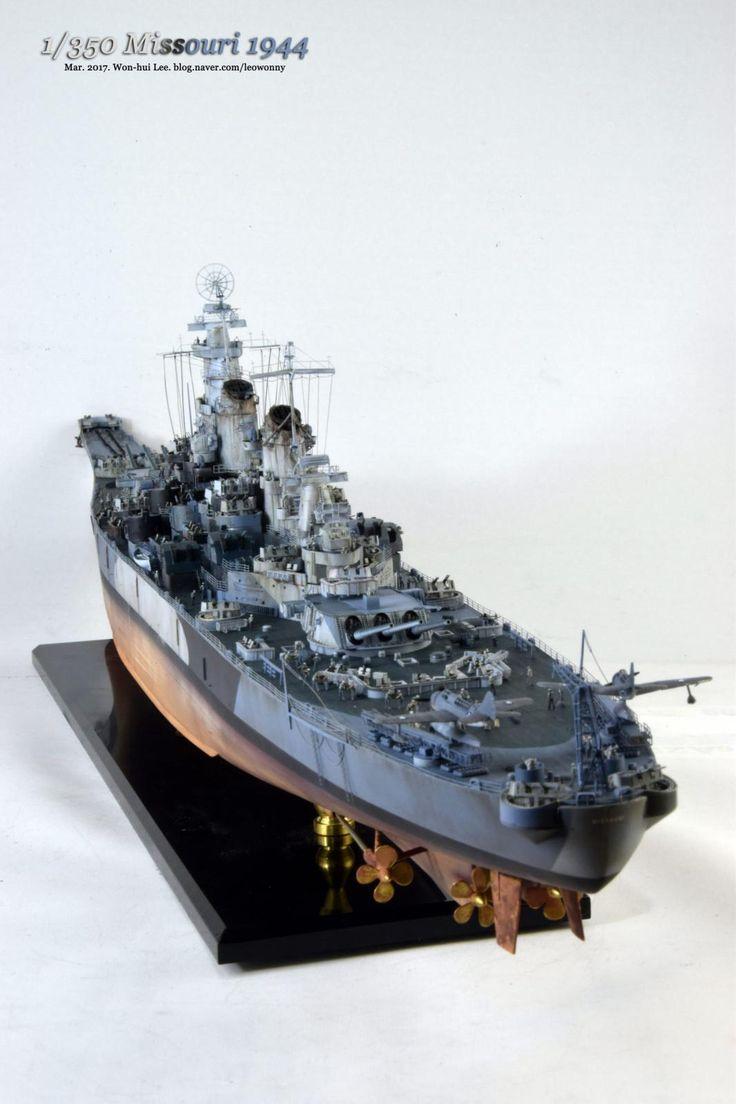 1/350 Missouri 1944 | iModeler