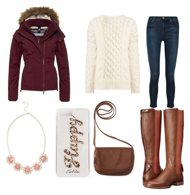 Untitled #298 by kyara-de-schryver on Polyvore featuring polyvore fashion style Joseph Superdry J Brand Ariat Aéropostale Edie Parker clothing