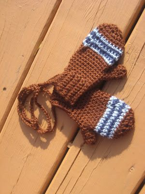 This winter I wanted a pair of mittens for my children that they could easily take on and off themselves. I also wanted something that w...