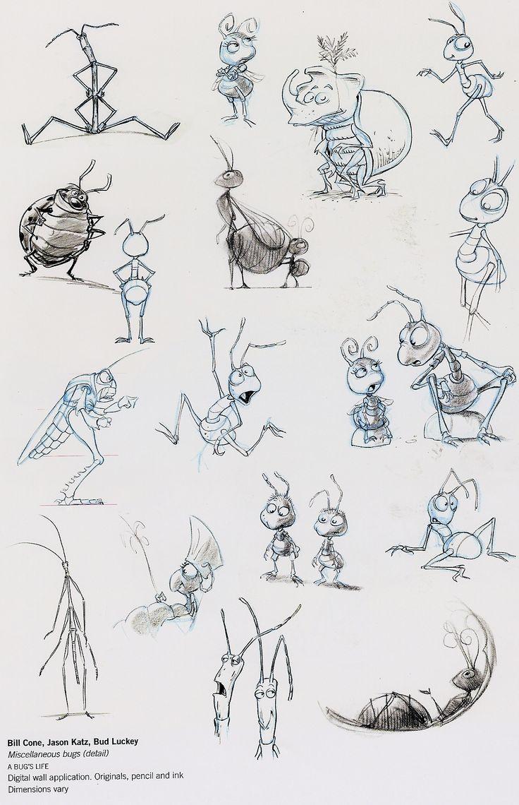 Disney--A Bug's Life concept art