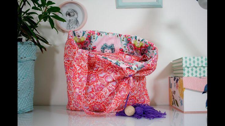 Jak uszyć pikowaną torbę oulala.pl