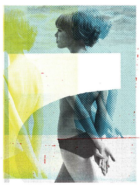 Love the textured effect in the design // Jeff Kleinsmith, prints available
