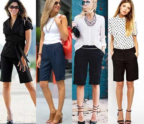 Publicidade Quem disse que só homem pode usar bermuda?! Sim, bermuda, não shorts. As bermudas tendem a ser mais compridinhas, uma pouco acima do joelho. As bermudas são super versáteis e podem ser usadas por mulheres de todos os biótipos, as que tem os quadris mais largos, as baixinhas, altas, magras e até mesmo as …