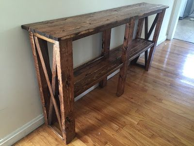 Drew Danielle Design Skinny Sofa Table