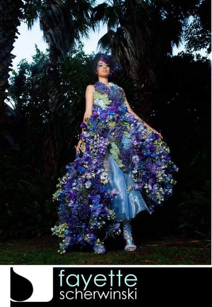Flora Flower Fashion by Fayette Scherwinski. Photography by Craig Anderson
