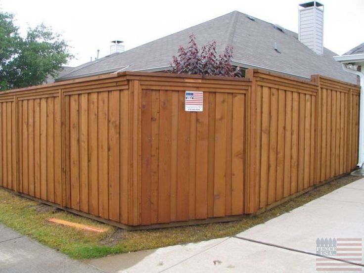 Fences and gates we can build any wood fence or for Wood privacy fence ideas