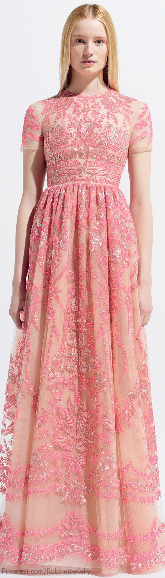 This is so pretty <3  Valentino | Resort 2014