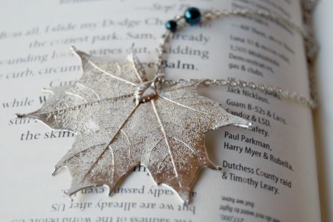 Maple Leaf Necklace #Canada